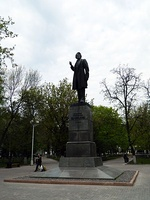 Памятник В. Г. Белинскому на Театральном проезде