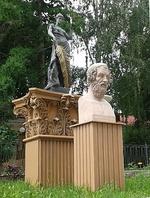Скульптурная композиция «Античные мотивы», посвящённая Древней Греции
