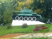 Постамент-танк Т-34