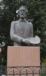 Памятник живописцу К. А. Савицкому