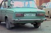 Автомобильный номер республики Татарстан