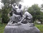 Скульптурная композиция «Семья»