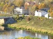 Вид на левый берег Вазузы
